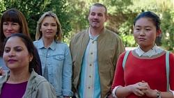 Steph Scully, Toadie Rebecchi, Li-Kim Chen in Neighbours Episode 7700
