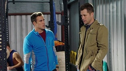 Aaron Brennan, Mark Brennan in Neighbours Episode 7701
