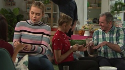 Xanthe Canning, Piper Willis, Karl Kennedy in Neighbours Episode 7702