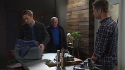 Tyler Brennan, Hamish Roche, Mark Brennan in Neighbours Episode 7702