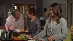 Karl Kennedy, Susan Kennedy, Elly Conway in Neighbours Episode 7702