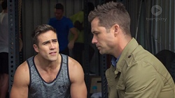 Aaron Brennan, Mark Brennan in Neighbours Episode 7703