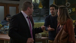 Toadie Rebecchi, Sam Feldman, Sonya Mitchell in Neighbours Episode 7704