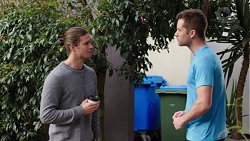 Tyler Brennan, Mark Brennan in Neighbours Episode 7704