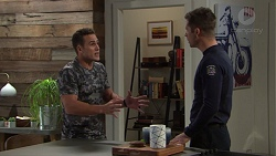 Aaron Brennan, Mark Brennan in Neighbours Episode 7704