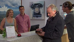 Steph Scully, Jack Callaghan, Hamish Roche, Tyler Brennan in Neighbours Episode 7704