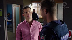 Jack Callaghan, Mark Brennan in Neighbours Episode 7704