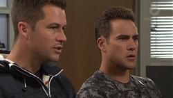 Mark Brennan, Aaron Brennan in Neighbours Episode 7705