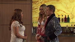 Terese Willis, Courtney Grixti, Paul Robinson in Neighbours Episode 7707