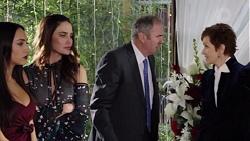 Mishti Sharma, Elly Conway, Karl Kennedy, Susan Kennedy in Neighbours Episode 7707