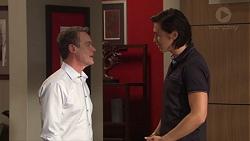 Paul Robinson, Leo Tanaka in Neighbours Episode 7707