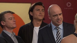 Paul Robinson, Leo Tanaka, Tim Collins in Neighbours Episode 7708