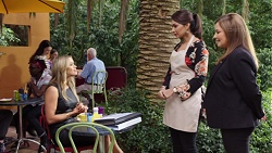 Courtney Grixti, Dipi Rebecchi, Terese Willis in Neighbours Episode 7708