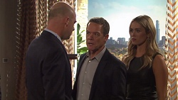 Tim Collins, Paul Robinson, Courtney Grixti in Neighbours Episode 7708