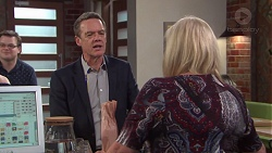 Paul Robinson, Sheila Canning in Neighbours Episode 7708