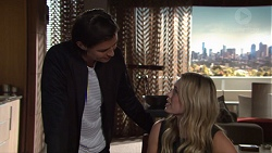 Leo Tanaka, Courtney Grixti in Neighbours Episode 7708