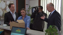 Amy Williams, Tim Collins in Neighbours Episode 7708