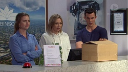 Amy Williams, Steph Scully, Jack Callaghan in Neighbours Episode 7709