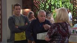 Aaron Brennan, Hamish Roche, Sheila Canning in Neighbours Episode 7709