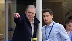 Karl Kennedy, David Tanaka in Neighbours Episode 7709