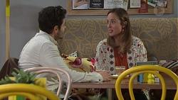 Sam Feldman, Sonya Mitchell in Neighbours Episode 7709