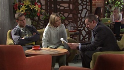 Aaron Brennan, Steph Scully, Toadie Rebecchi in Neighbours Episode 7709
