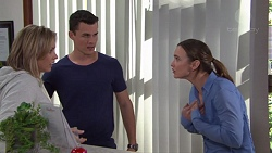 Steph Scully, Jack Callaghan, Amy Williams in Neighbours Episode 7709