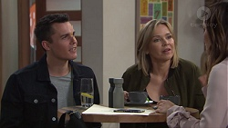 Jack Callaghan, Steph Scully, Elly Conway in Neighbours Episode 7710