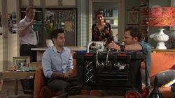 Toadie Rebecchi, David Tanaka, Dipi Rebecchi, Shane Rebecchi in Neighbours Episode 7710