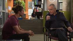 Tyler Brennan, Hamish Roche in Neighbours Episode 7710