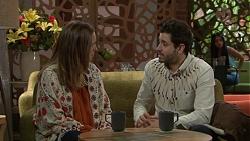 Sonya Rebecchi, Sam Feldman in Neighbours Episode 7710