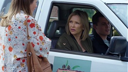 Sonya Mitchell, Steph Scully, Jack Callaghan in Neighbours Episode 7710