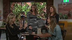 Courtney Grixti, Paige Novak, Terese Willis, Amy Williams in Neighbours Episode 7711