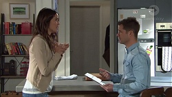 Elly Conway, Mark Brennan in Neighbours Episode 7712