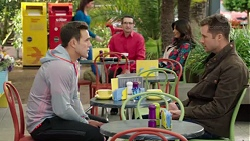 Aaron Brennan, Mark Brennan in Neighbours Episode 7713