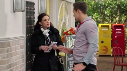 Louise McLeod, Aaron Brennan in Neighbours Episode 7713