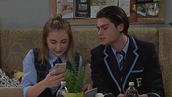 Piper Willis, Ben Kirk in Neighbours Episode 7713