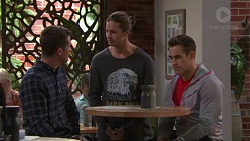 Mark Brennan, Tyler Brennan, Aaron Brennan in Neighbours Episode 7713