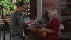 Tyler Brennan, Sheila Canning in Neighbours Episode 7713