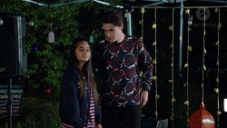 Kirsha Rebecchi, Ben Kirk in Neighbours Episode 7714