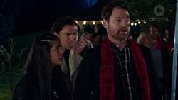 Yashvi Rebecchi, Leo Tanaka, Shane Rebecchi in Neighbours Episode 7715