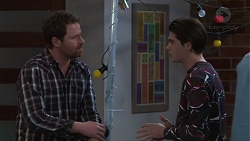 Shane Rebecchi, Ben Kirk in Neighbours Episode 7715