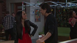 Mishti Sharma, Leo Tanaka in Neighbours Episode 7715