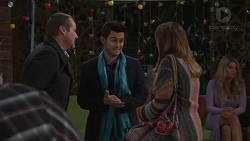 Toadie Rebecchi, David Tanaka, Sonya Mitchell in Neighbours Episode 7715