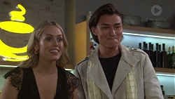 Courtney Grixti, Leo Tanaka in Neighbours Episode 7715