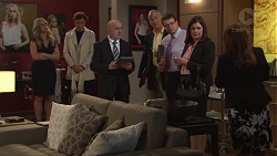 Courtney Grixti, Leo Tanaka, Kit Gatsby, Terese Willis in Neighbours Episode 7715