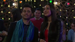 David Tanaka, Mishti Sharma in Neighbours Episode 7715