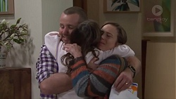 Toadie Rebecchi, Nell Rebecchi, Sonya Mitchell in Neighbours Episode 7715