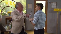 Hamish Roche, David Tanaka in Neighbours Episode 7716