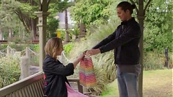Piper Willis, Tyler Brennan in Neighbours Episode 7716